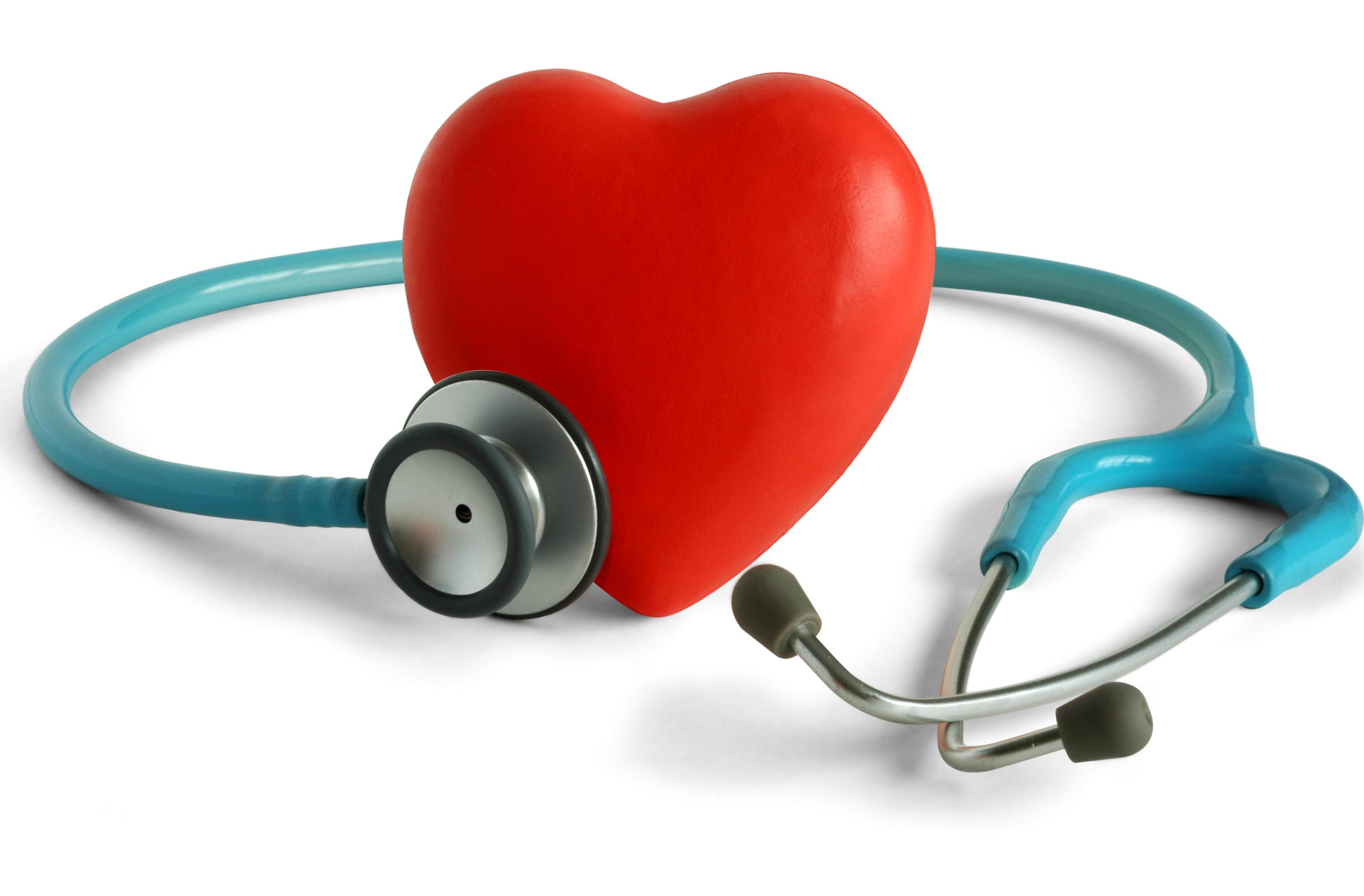 heart & steothoscope